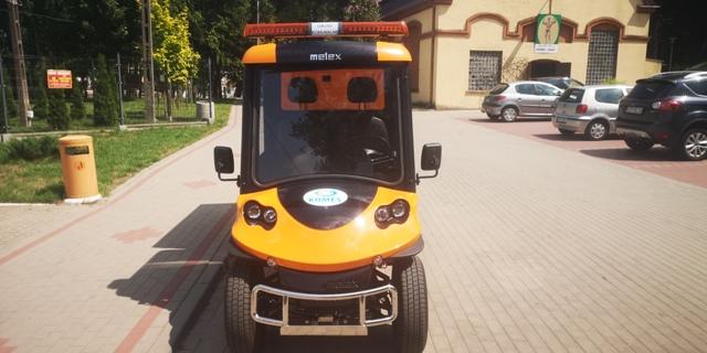 Pojazd elektryczny Melex